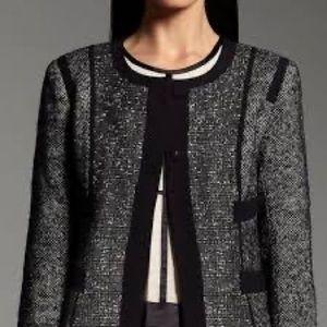 Narciso Rodriguez Metallic Tweed Blazer Size XL
